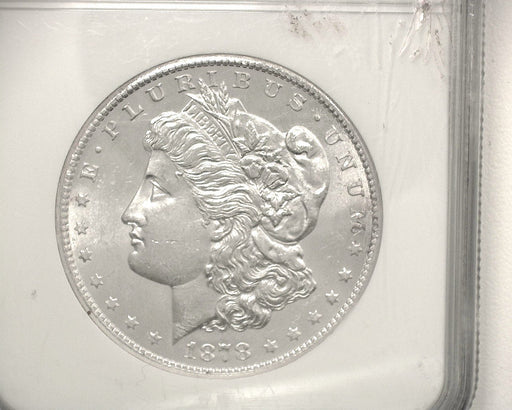 HS&C: 1878 O Morgan Dollar NGC - MS62 Coin