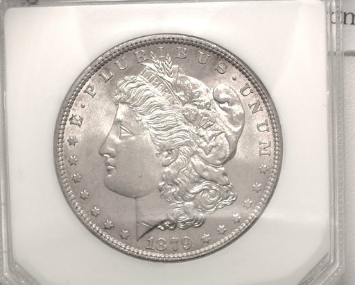 HS&C: 1879 Morgan Dollar DOMINION - MS-64 REV-79 Coin