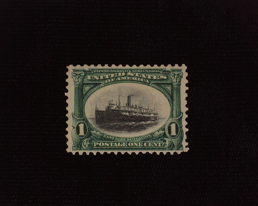 HS&C: US #294 Stamp Mint VF/XF NH