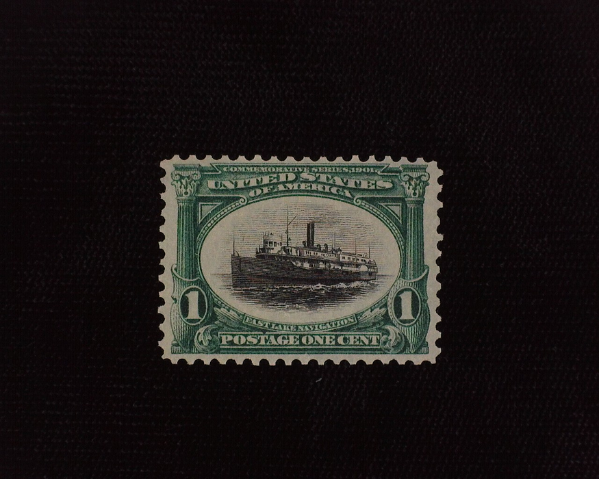 HS&C: US #294 Stamp Mint F/VF NH