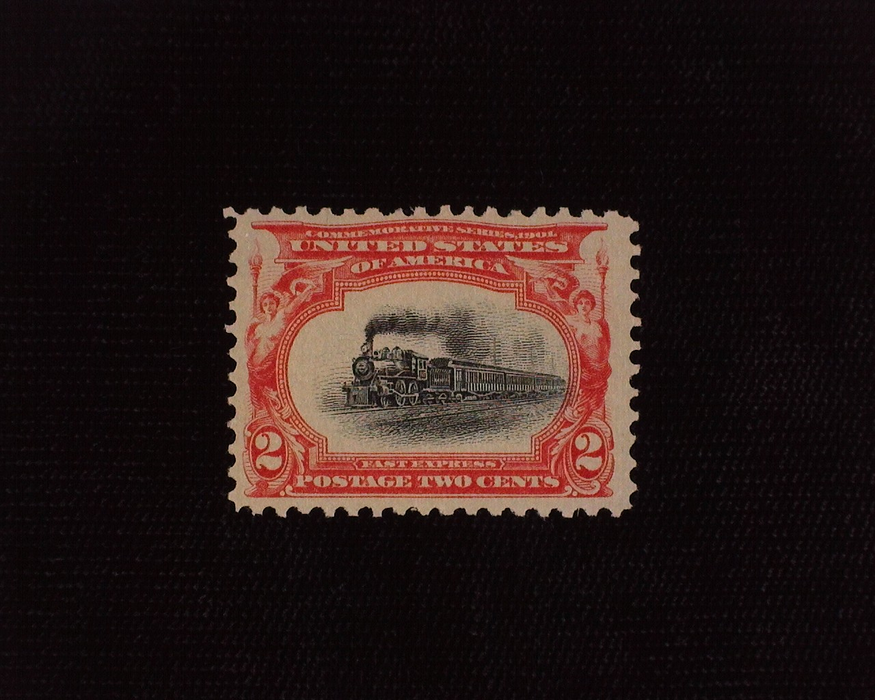 HS&C: US #295 Stamp Mint VF/XF NH