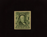 HS&C: US #314 Stamp Mint XF NH