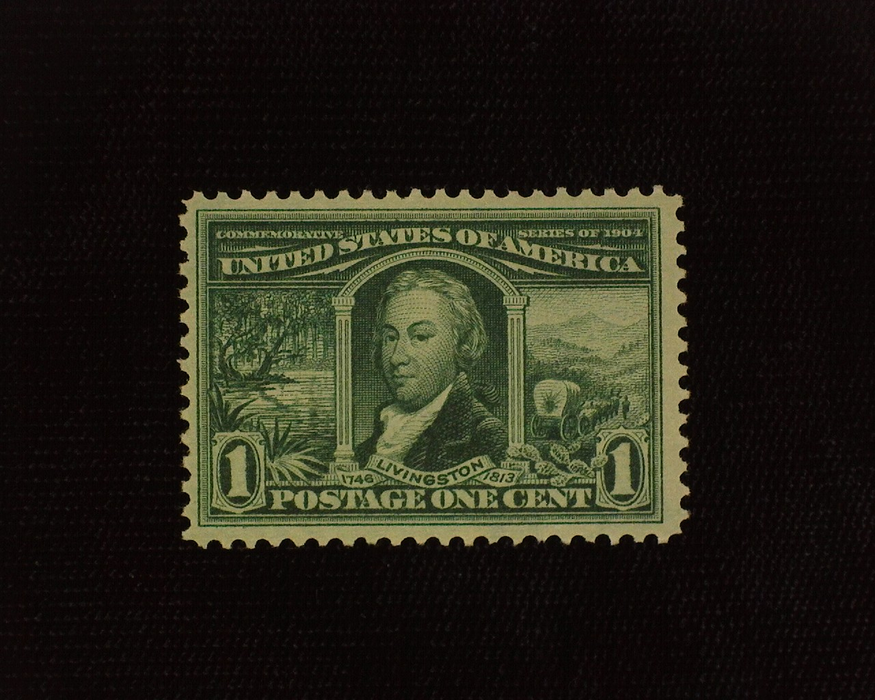 HS&C: US #323 Stamp Mint Fresh and choice. VF NH