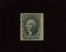 HS&C: US #35 Stamp Mint Rich color. No gum stamp. F