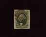 HS&C: US #15 Stamp Used Large four margin stamp with deep color and black grid cancel. Choice. XF