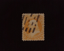 HS&C: US #71 Stamp Used Rich color stamp. VF
