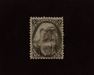 HS&C: US #73 Stamp Used Intense color. Faint cancel. VF