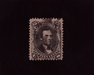 HS&C: US #98 Stamp Used Faint Face Free cancel. F
