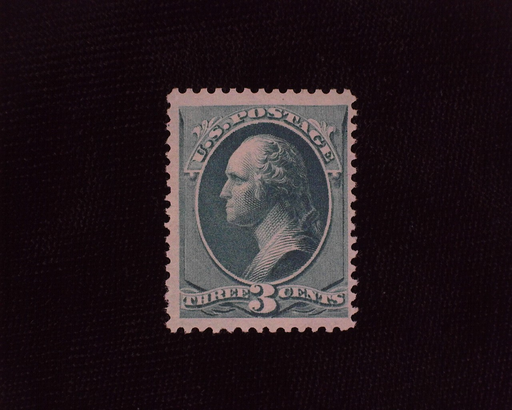 HS&C: US #207 Stamp Mint Fresh stamp. F/VF NH