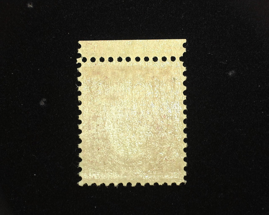 #579 Mint Fresh bottom margin stamp. F NH