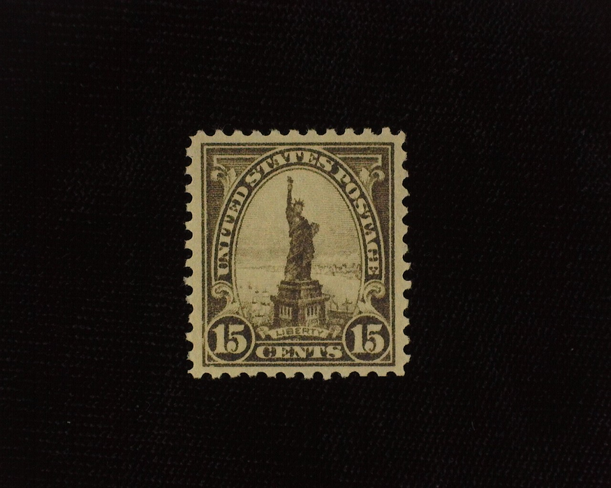 HS&C: US #566 Stamp Mint A gem! XF/S NH