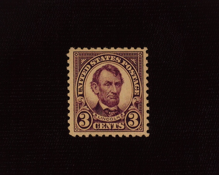 HS&C: US #555 Stamp Mint Deep rich color. VF/XF NH