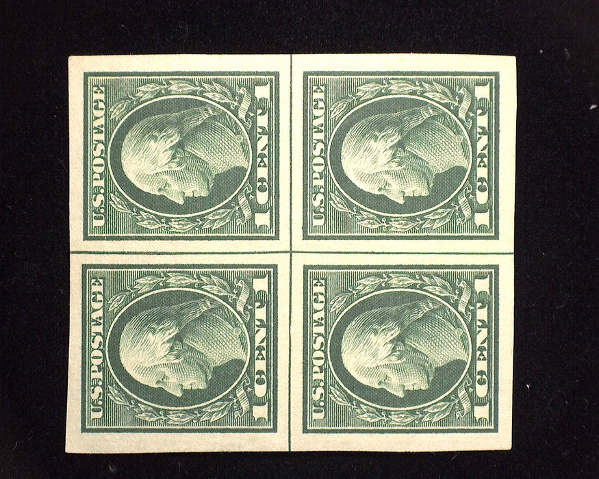 #408 Mint Choice cross center line block. XF/S LH