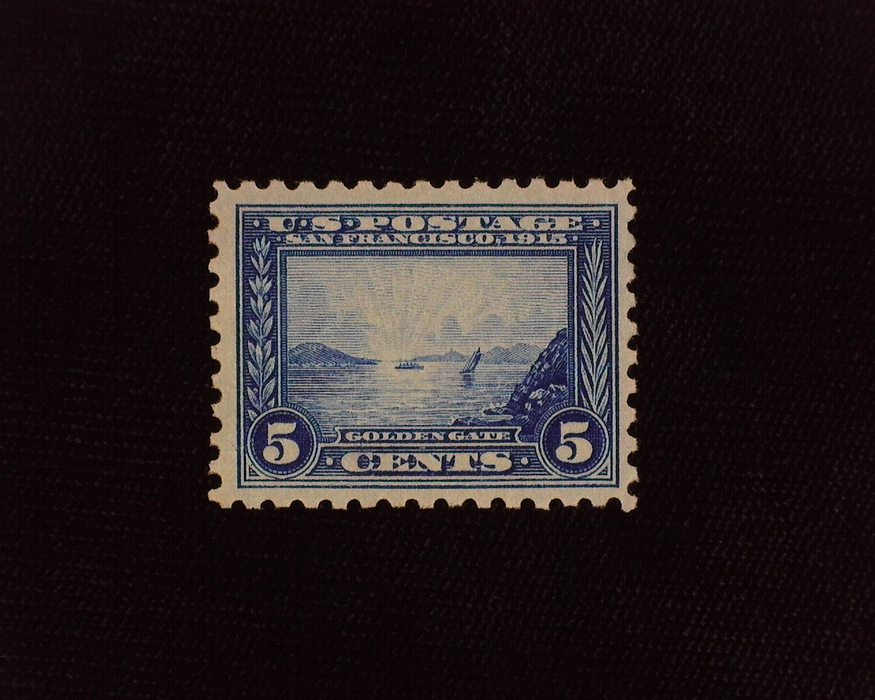 HS&C: US #403 Stamp Mint Faint natural gum crease. VF NH