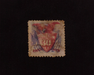 HS&C: US #121 Stamp Used Nice filler. VF/XF