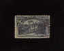 HS&C: US #240 Stamp Used Very faint corner crease. XF