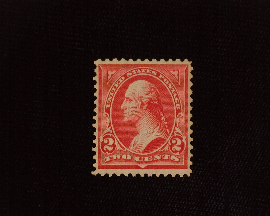 HS&C: US #267 Stamp Mint VF/XF NH