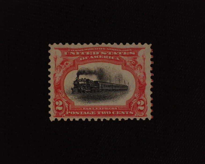 HS&C: US #295 Stamp Mint Fresh. F/VF NH