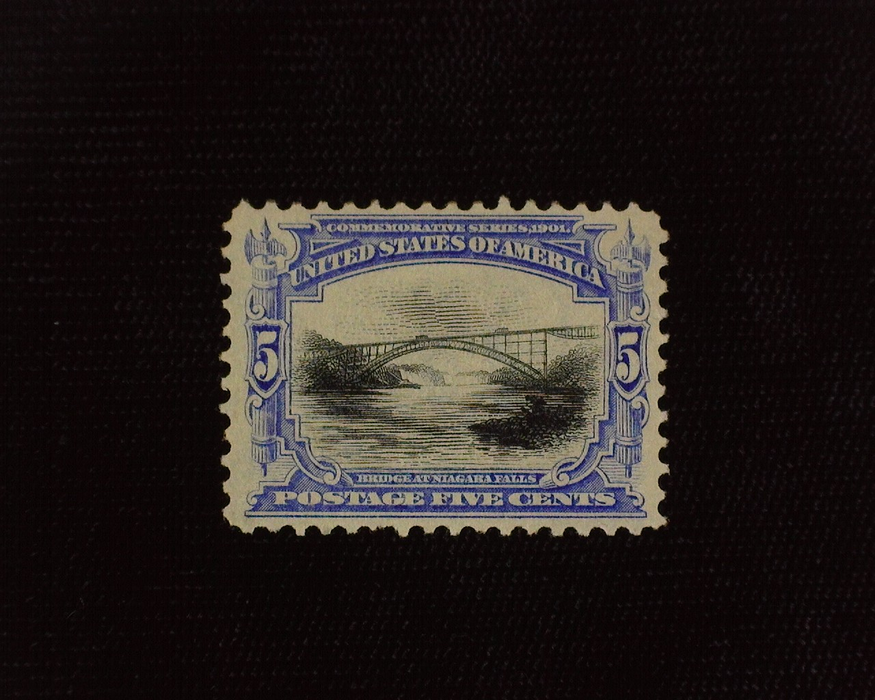 HS&C: US #297 Stamp Mint VF NH