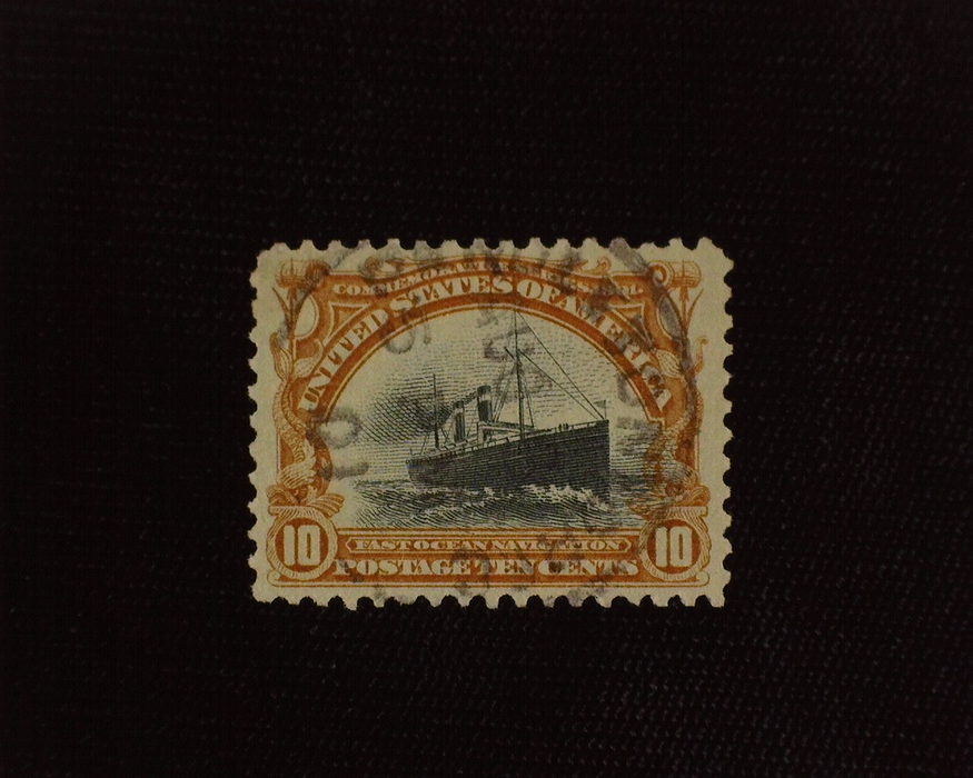 HS&C: US #299 Stamp Used Faint cancel. XF