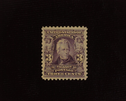 HS&C: US #302 Stamp Mint Deep color. VF/XF LH
