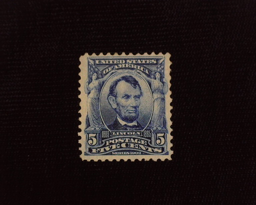 HS&C: US #304 Stamp Mint VF/XF LH
