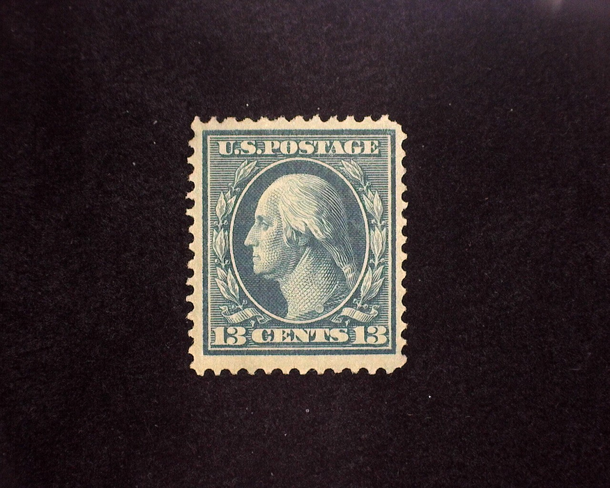 HS&C: US #339 Stamp Mint Natural horizontal gum skip. VF NH