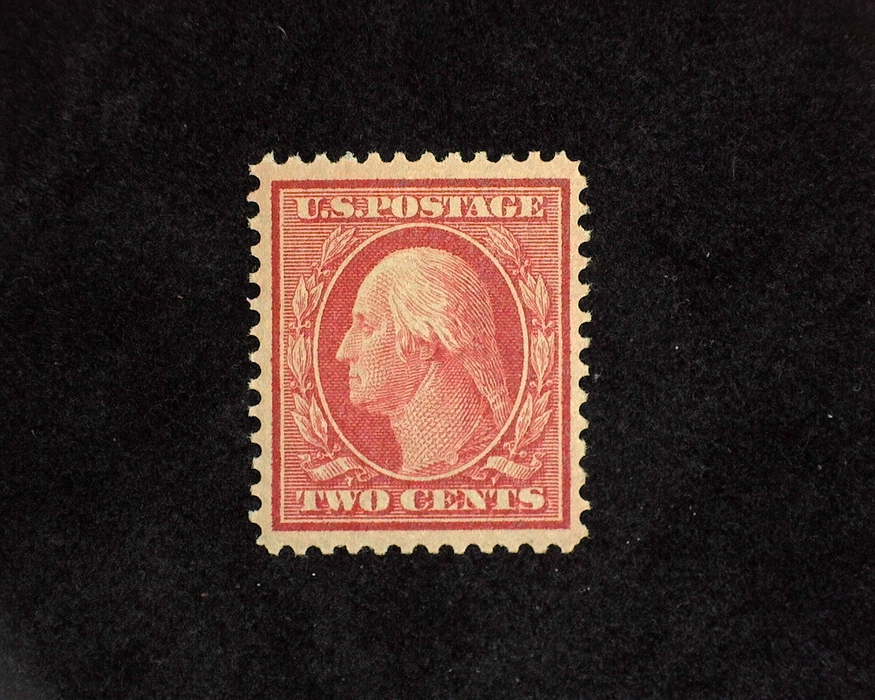 HS&C: US #332 Stamp Mint VF/XF LH