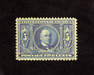 HS&C: US #326 Stamp Mint Rich color. XF LH