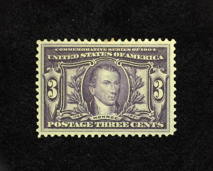 HS&C: US #325 Stamp Mint VF/XF H