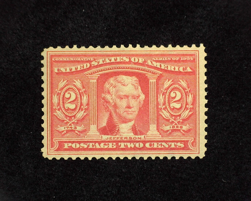 HS&C: US #324 Stamp Mint VF/XF NH