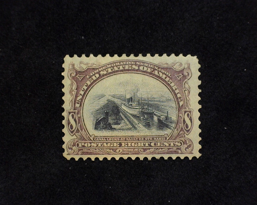 HS&C: US #298 Stamp Mint VF LH