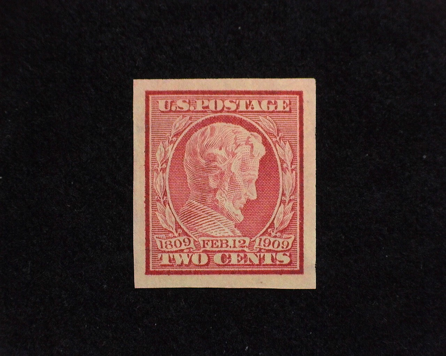HS&C: US #368 Stamp Mint A gem! XF/S NH