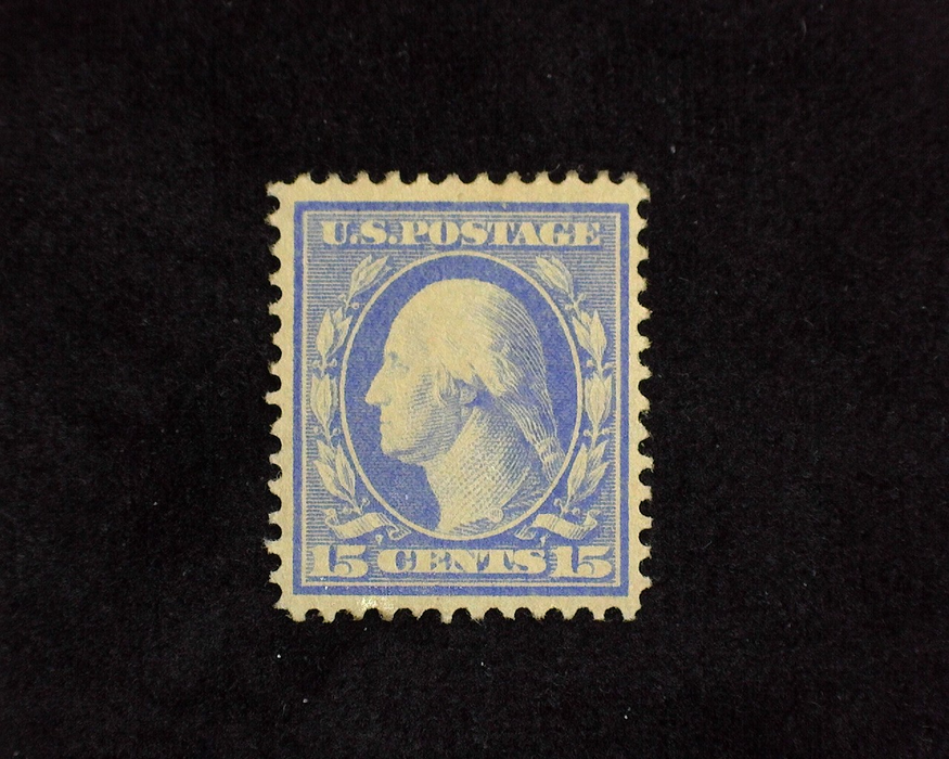 HS&C: US #382 Stamp Mint VF/XF LH