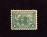 HS&C: US #401 Stamp Mint VF LH