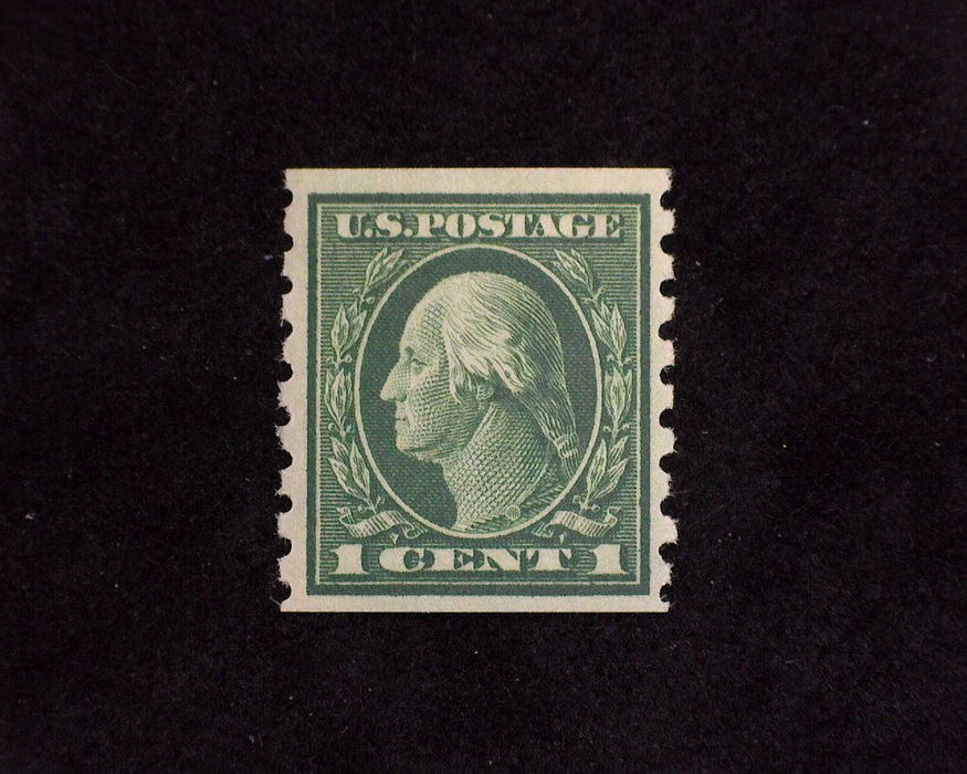 HS&C: US #412 Stamp Mint VF LH