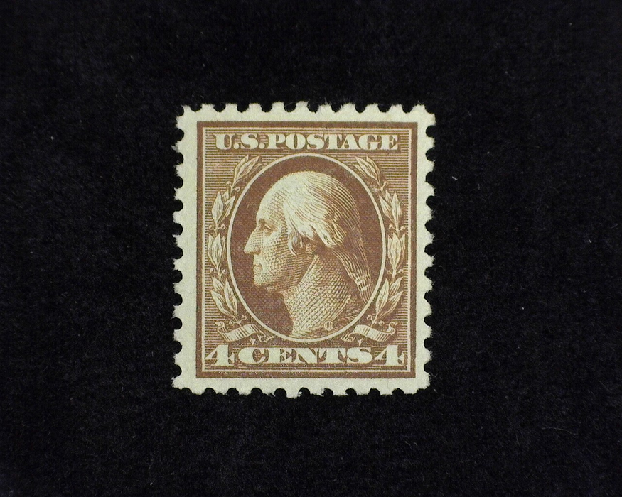 HS&C: US #427 Stamp Mint VF/XF LH