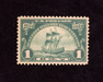 HS&C: US #614 Stamp Mint VF/XF NH
