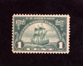HS&C: US #614 Stamp Mint F/VF NH