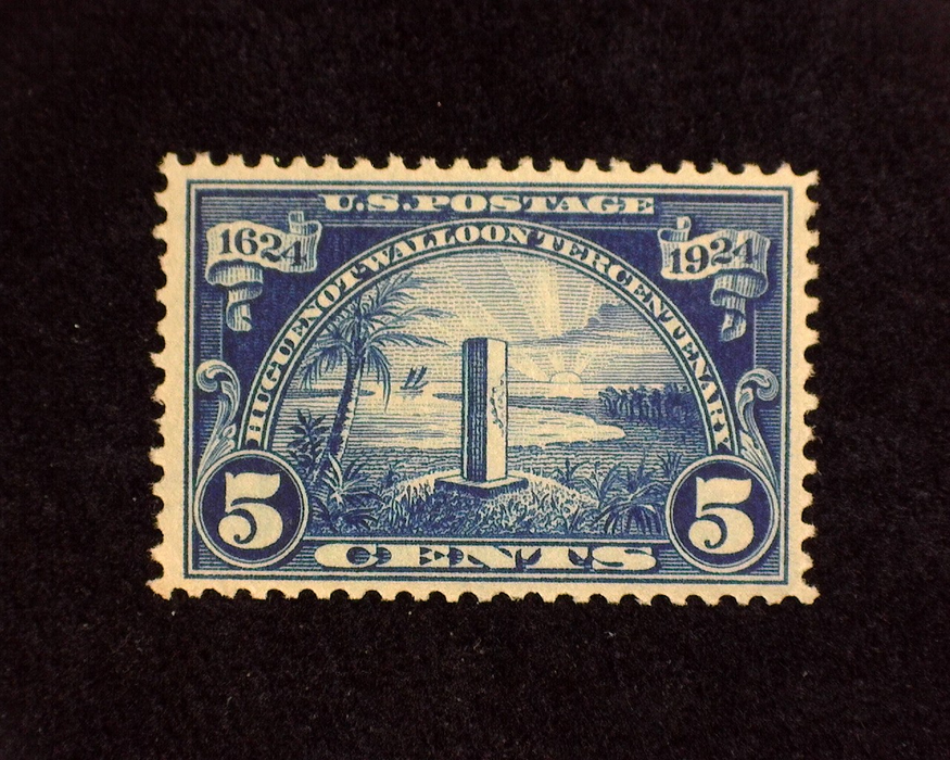 HS&C: US #616 Stamp Mint XF NH