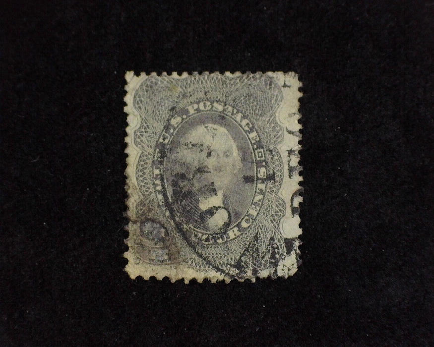 HS&C: US #37 Stamp Used Thin. F/VF