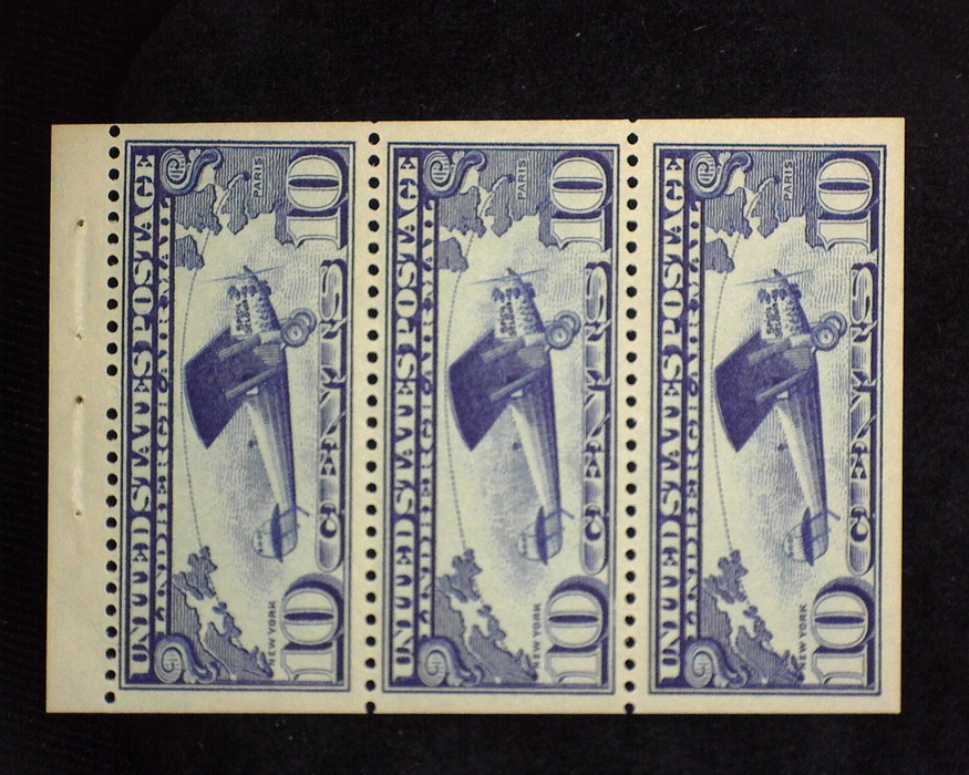 HS&C: US #C10a Stamp Mint Fresh booklet panes. VF/XF NH