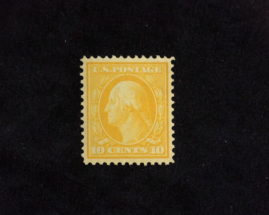 HS&C: US #338 Stamp Mint A gem! XF/S LH
