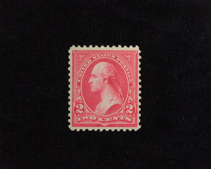 HS&C: US #251 Stamp Mint Fresh. F/VF NH
