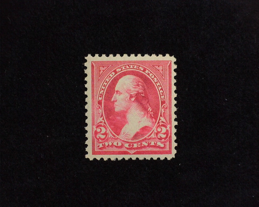 HS&C: US #252 Stamp Mint VF NH