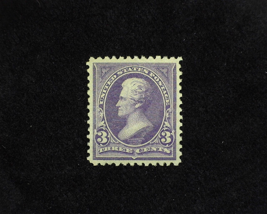 HS&C: US #253 Stamp Mint VF/XF LH
