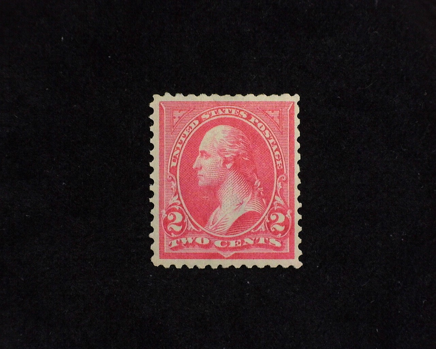 HS&C: US #266 Stamp Mint F/VF NH