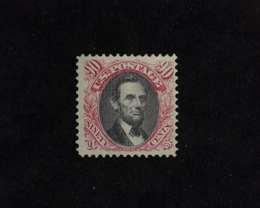 HS&C: US #122 Stamp Mint Bright color stamp with distrubed o.g. Nice appearance. F/VF