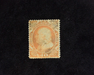HS&C: US #38 Stamp Mint 4-15 P.S.E. certificate stating disturbed o.g. with sulphurized spots. F/VF H