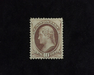 HS&C: US #150 Stamp Mint 4-15 P.S.E. certificate stating tiny tear at left. VF/XF LH